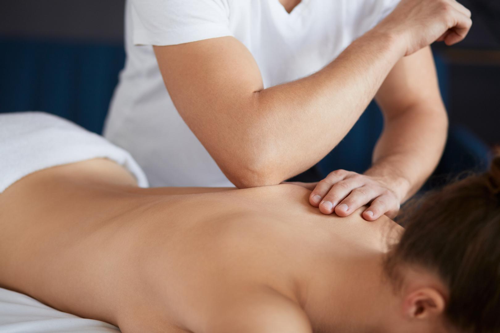 masaż leczniczy układu ruchu
